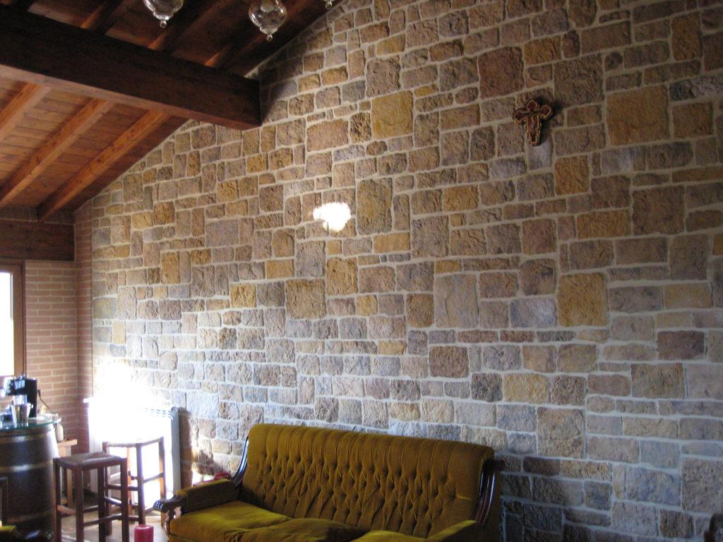 Rivestimenti facciate con pietra ricostruita